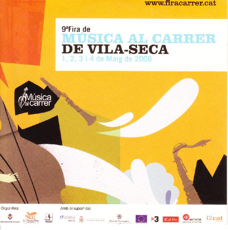 MÚSICA AL CARRER DE VILA - SECA - 2008