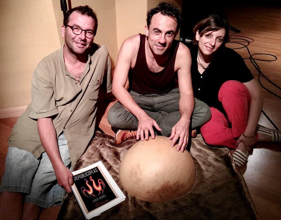"""Del 4 al 9 de junio grabación del disco de """"Republicoplas"""" (Granada)"""