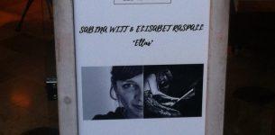 """26 de diciembre- Sabina Witt & Elisabet Raspall """"Ellas""""- Café de La Pedrera (Bcn)- 14h."""