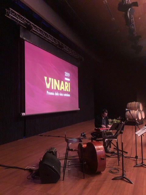 October 11- Premios Vinarios (Auditorio Vilafranca del Penedés)- 22h