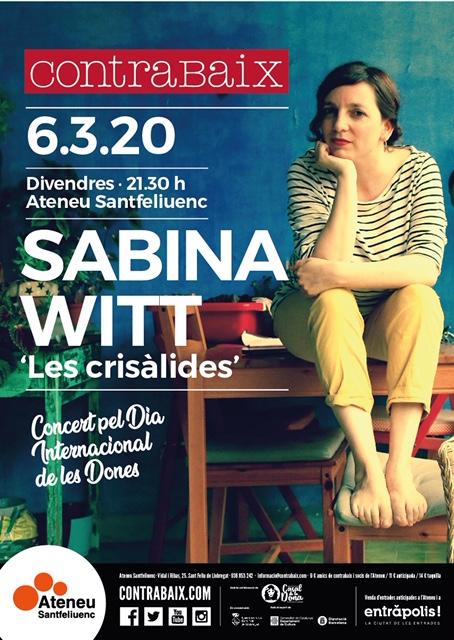 6 de marzo- Les crisàlides- Ateneu (St. Feliu de Llobregat)-21:30h