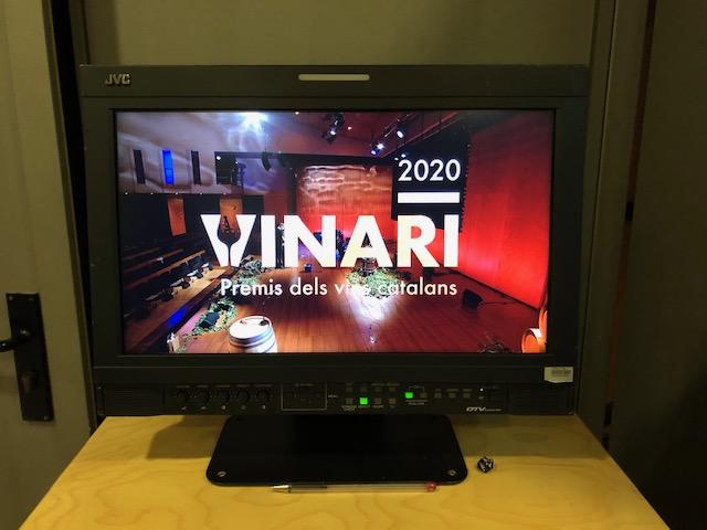 9 de octubre- Premios Vinaris 2020 (Vilafranca del Penedès)- 22h Canal33